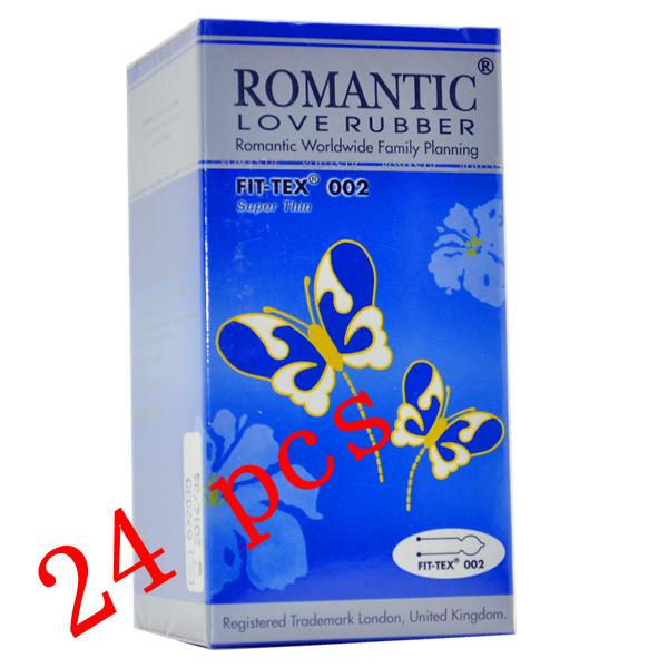 Romantic Love Rubber Fit Tex 002 Condom (Kondom) - 24's