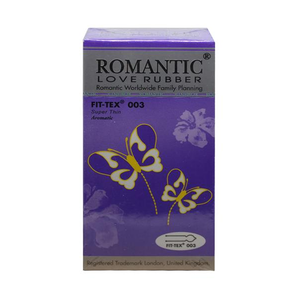 Romantic Love Rubber Fit Tex 003 Condom (Kondom)- 12's