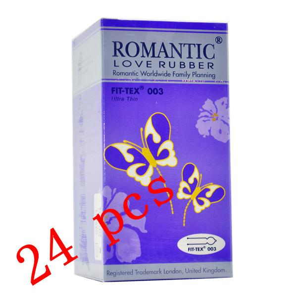 Romantic Love Rubber Fit Tex 003 Condom (Kondom) - 24's