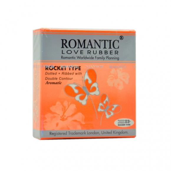Romantic Love Rubber Rocket Type - 3's
