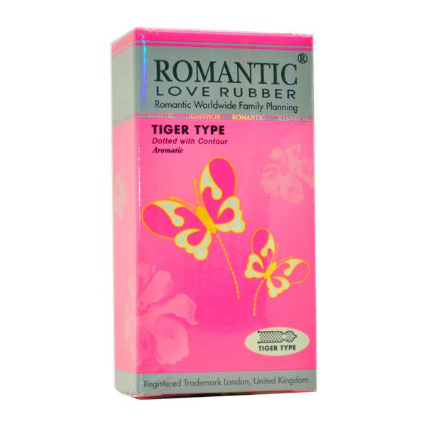 Romantic Love Rubber Tiger Type Condom (Kondom) - 12's
