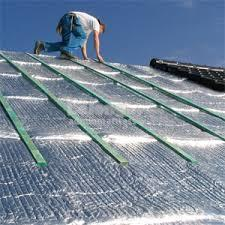 Roofing Insulation bubble aluminium foil 2-side heat insulation