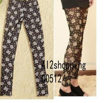 The roses of the Korean was thin 9 / Leggings 00512