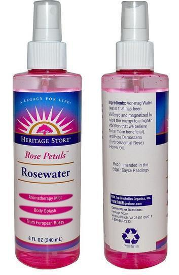 ROSEWATER Mist Spray 240ml Rose Water Aromatherapy,Toner (USA)