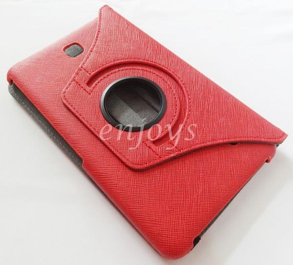 Rotate Leather Pouch Case Cover Samsung Galaxy Tab 4 7.0 T231 T235 ~R
