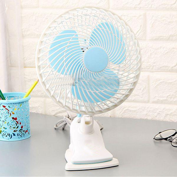Rotating Fan/Desk/Wall/Clip/Office/Adjustable/Cooling/Strong/Mute