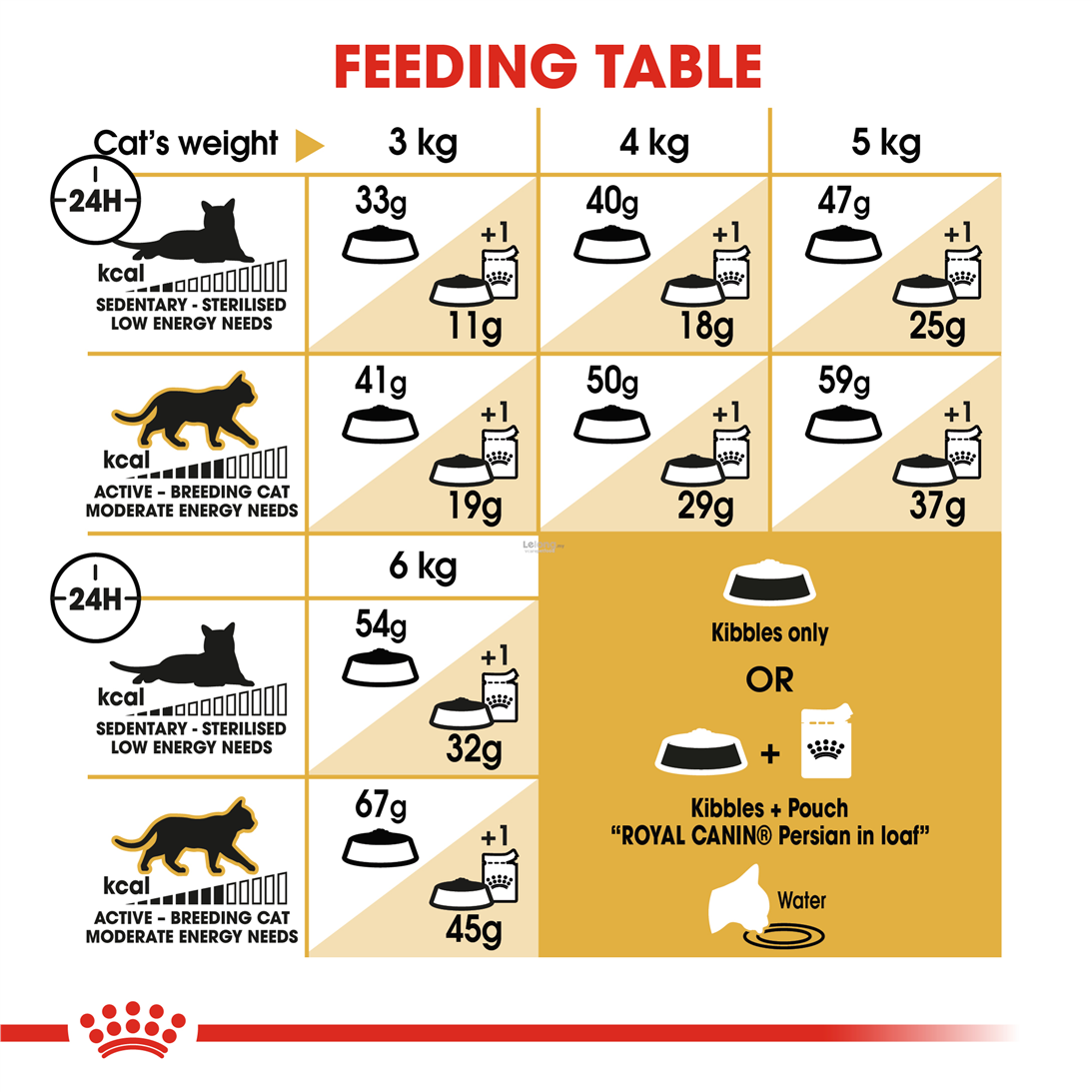Royal Canin Persian Adult Cat Food - 4 Kg