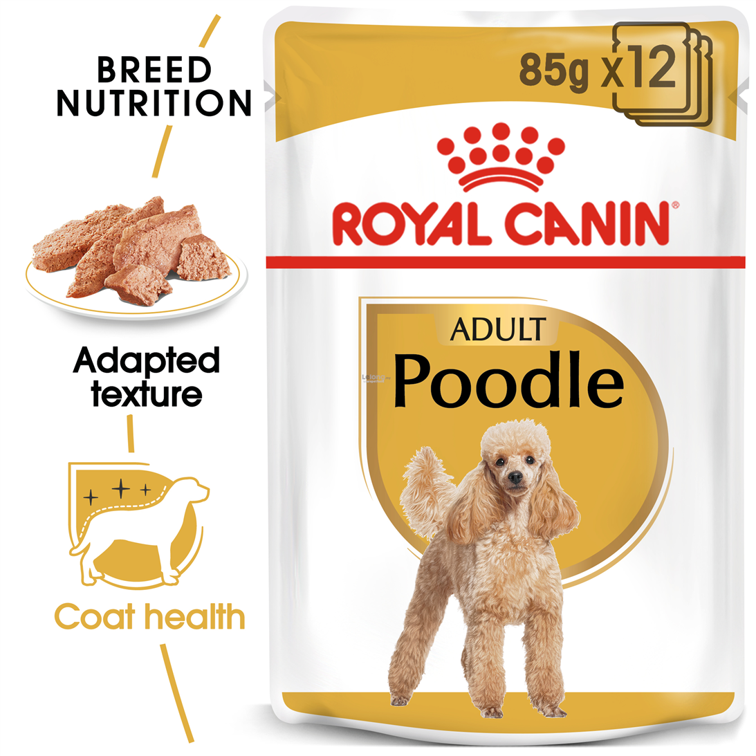 Royal Canin Wet Poodle Adult Pouch 85g x 12