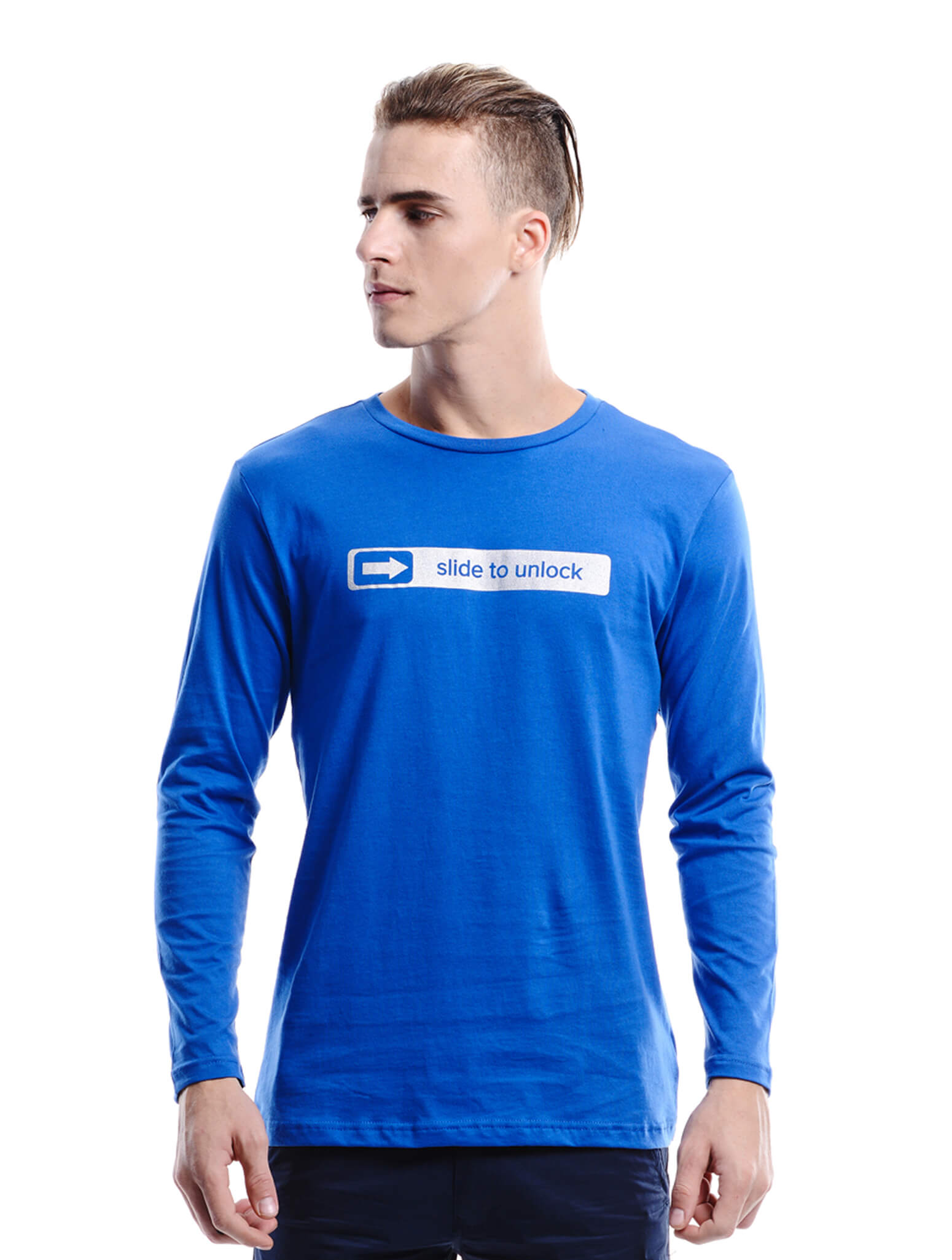 royal long sleeve tee