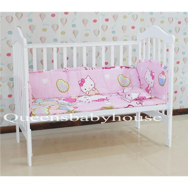 Royalcot R808 Baby Cot White + FREE Hello Kitty