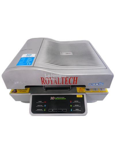 ROYALTECH 3D Heat Transfer Machine - RTMF3D