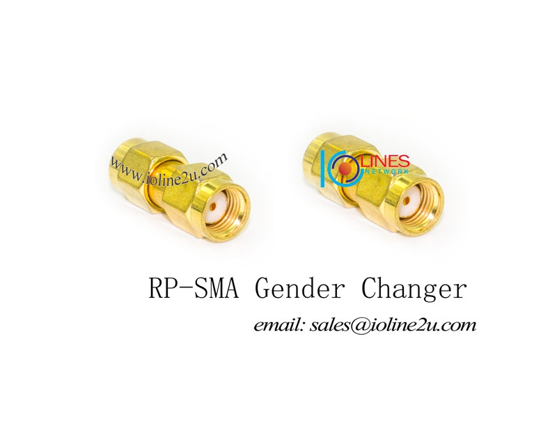 RP-SMA female/male to RP-SMA male adapter Gender changer Joint Adapter