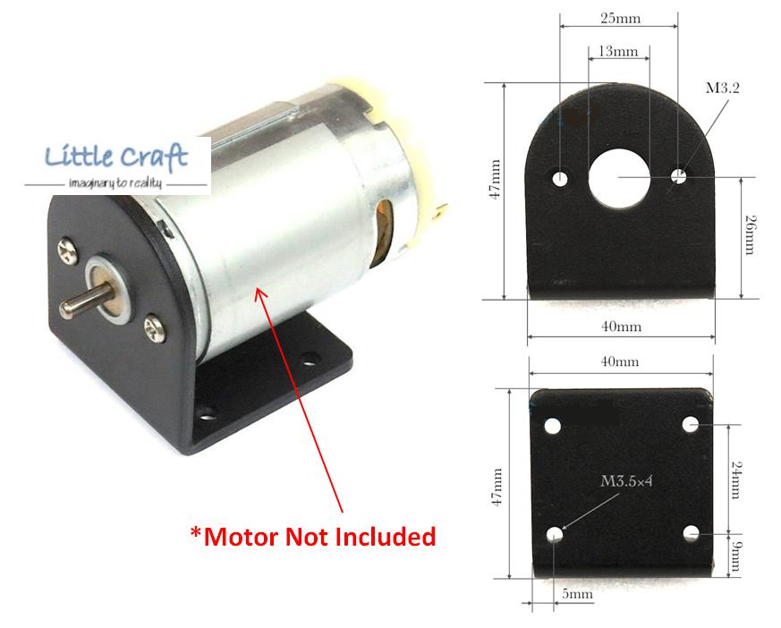 Rs 550 dc motor right angle mounting end 2 26 2019 4 15 pm for Right angle dc motor