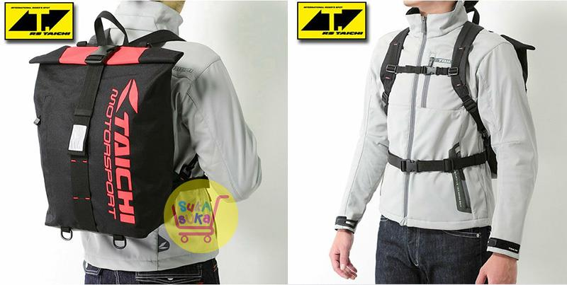 9b2f933330 RS Taichi RSB264 25L Sport Waterproof Motorcycle Backpack (5 Colors)