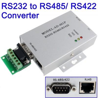 RS232 to RS485 / RS422 RJ45 Active Interface Converter