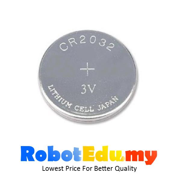 RTC Watch Control 225mah CR2032 3V Button Cell Coin Lithium Battery