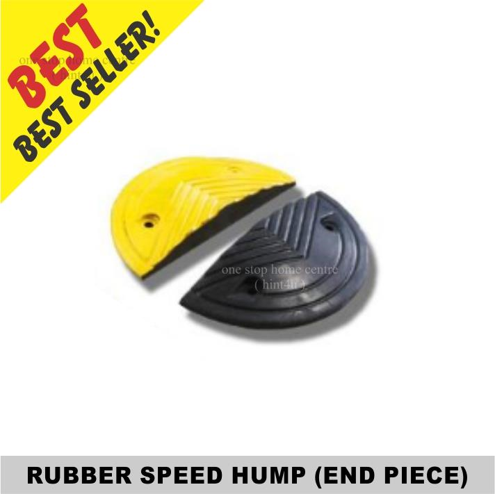 Rubber Speed Hump (End Piece)