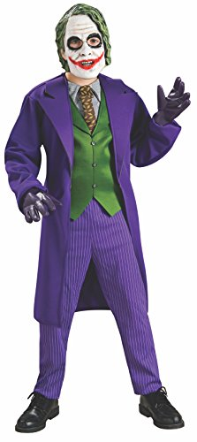 .... . Rubie's Batman: The Dark Knight Trilogy The Joker Deluxe Child's Costum