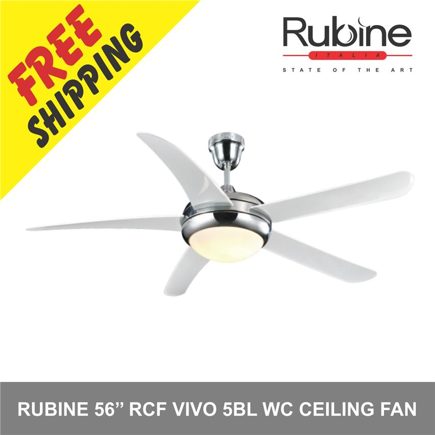 Rubine 56 Rcf Vivo 5bl Wc Ceiling Fan