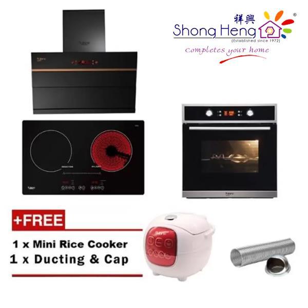 Kitchen Outlet Hob ~ Rubine cooker hood ceramic induct end  pm