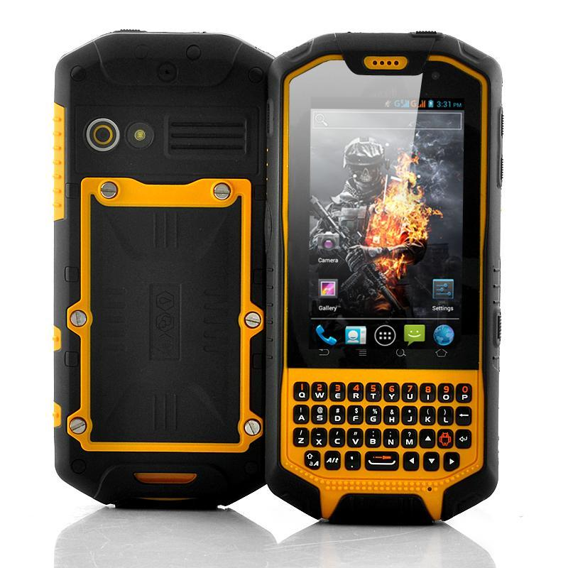 Rugged Android 4 0 Phone Runbo X3 3 5 Inch Screen Qwerty Keyboard