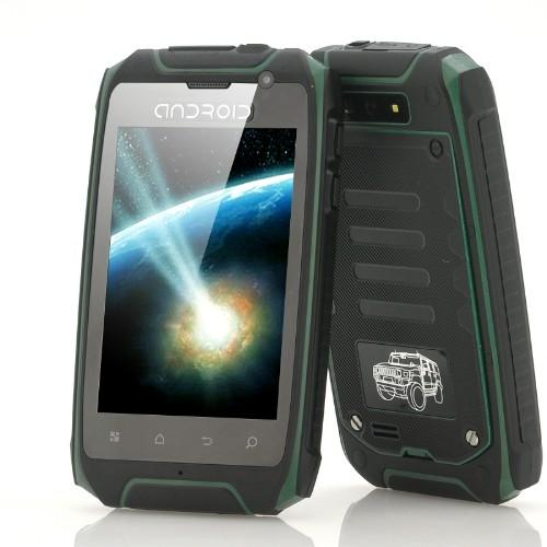 Rugged Android Phone Waterproof Dustproof Shockproof GPS (WP-H1).