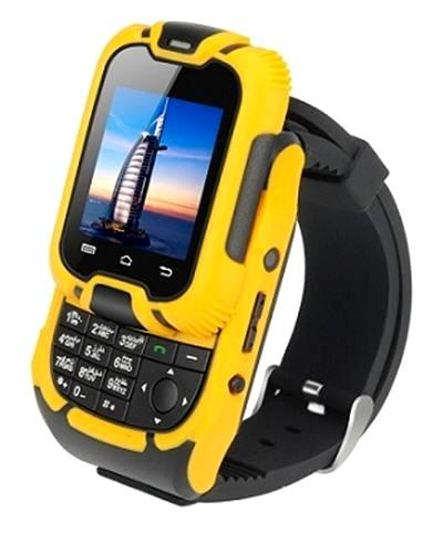 Rugged Mobile Phone Watch Dual Sim Camera Wp W10