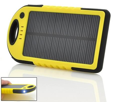 Rugged Solar Powered Charger 5000mAh (SOP-08).