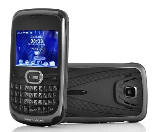 Rugged Waterproof Dual Sim Mobile Phone Wp T2