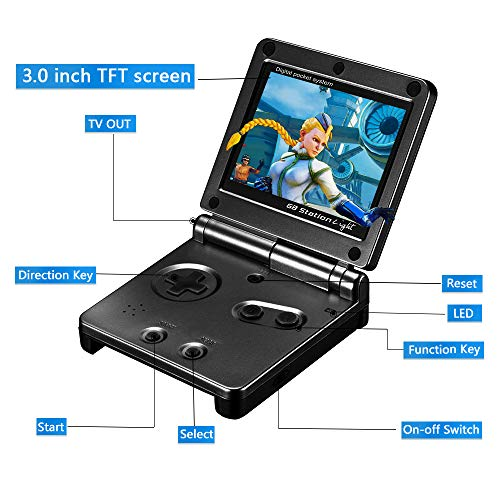 Ruihoxin Handheld Game Console, 333 Classic Games 3.0 inch HD LCD Screen Porta