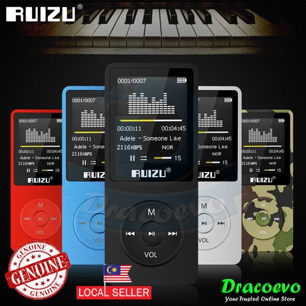 RUIZU X02 8GB MP3 Player Voice Recording Radio FM Video Ebook