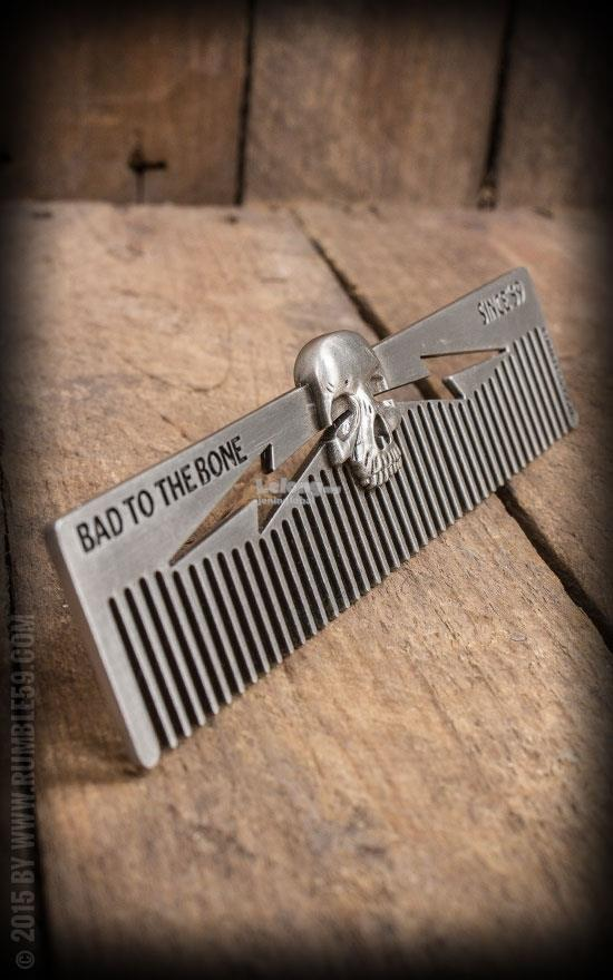 Rumble59 Schmiere 3D Comb Skull - Bad to the Bone