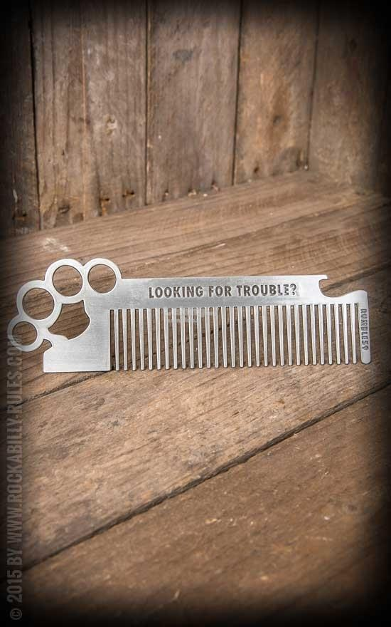 Rumble59 Schmiere Comb Brass Knuckles