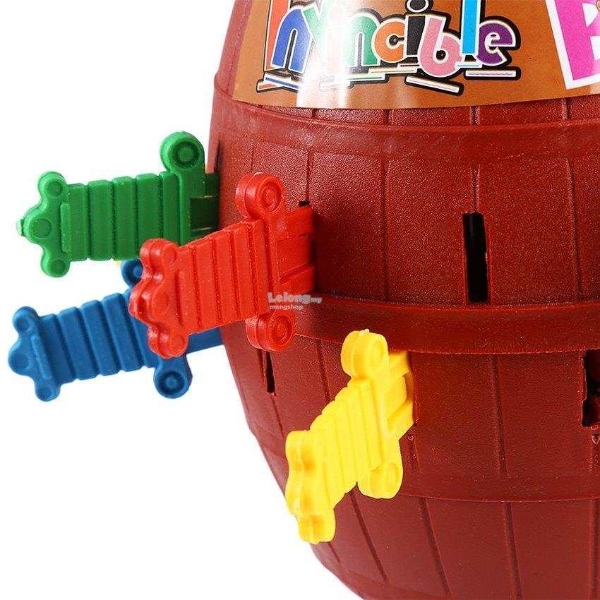 As Seen On Running Man Pop-Up Blackbeard Pirate Barrel Roulette Toys