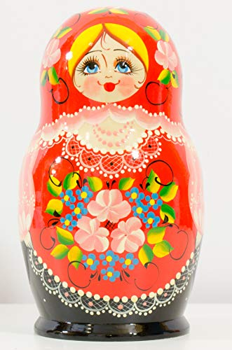 Russian Nesting Doll - Kirov - VJATKA - Hand Painted in Russia - Big Size - Wo