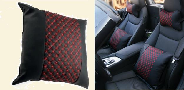 RW Series Backrest Cushion Car Seat Back Support Deco