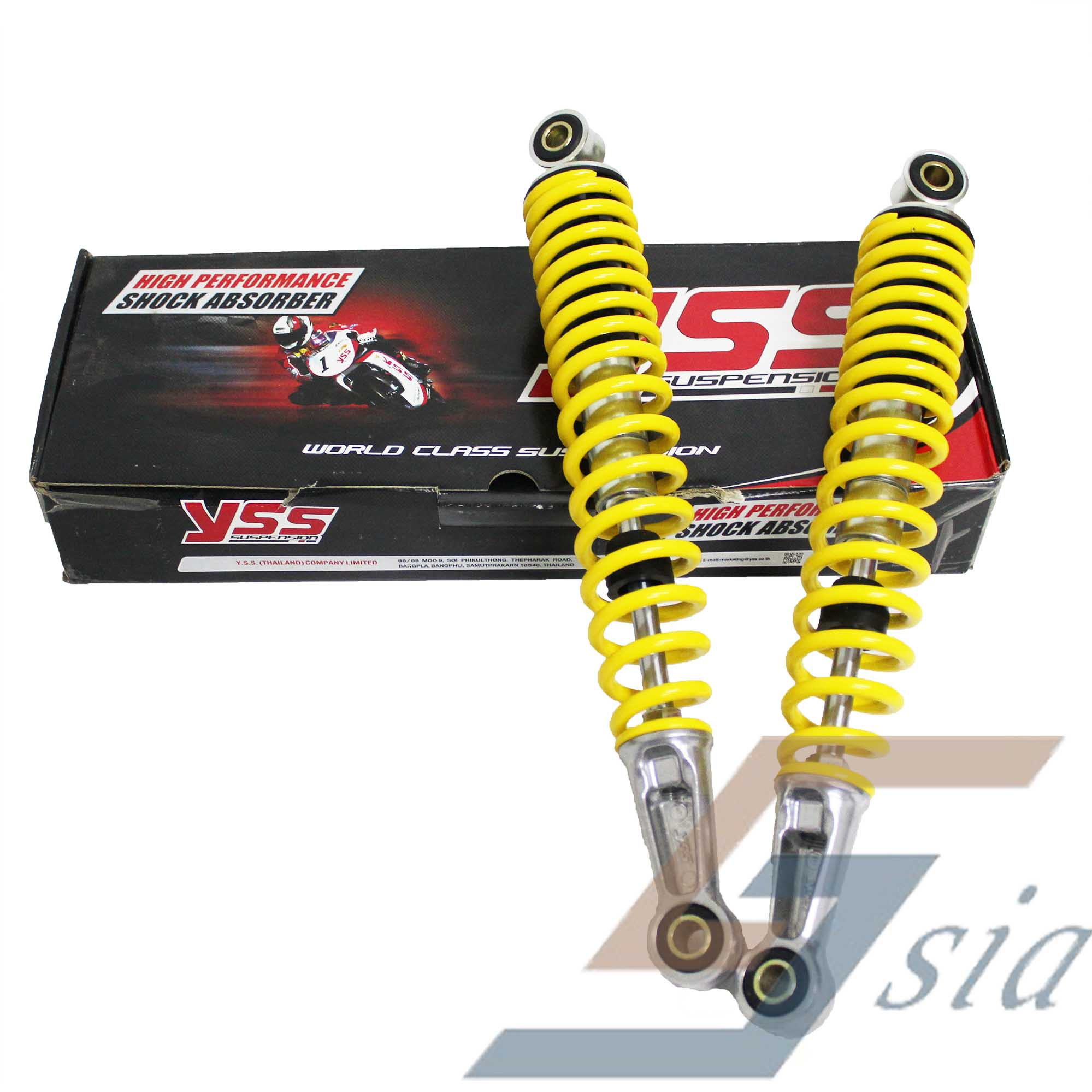 RXZ/DASH/WAVE/FUTURE YSS 335mm Rear Suspension  (Yellow)