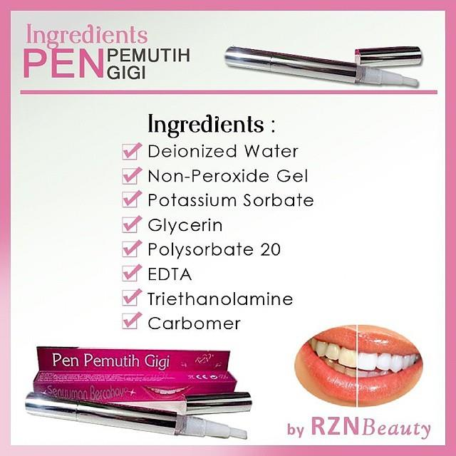 RZN Beauty Pen Pemutih Gigi - Senyum (end 8 22 2018 4 15 PM) 675bf022ed