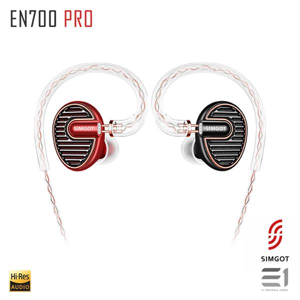 SIMGOT EN700 PRO IN-EARPHONES (Red/Black)