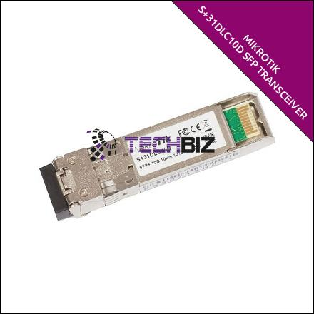 S+31DLC10D Mikrotik 10G SFP+ Transceiver with LCD Connector