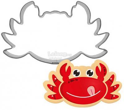 S/S Crab Cookie Cutter