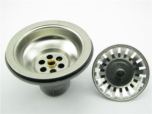 Stupendous S Steel Kitchen Sink Waste Drain With Filter Tray 2 1 2 Interior Design Ideas Inamawefileorg