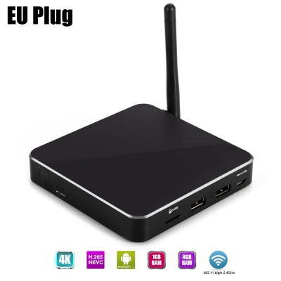 S11 TV Box 64Bit Android 5.1 Amlogic S905 Quad-core 1GB 8GB 2.4GHz WiF..
