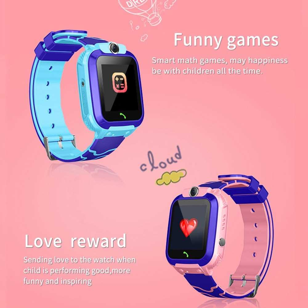 S12A Kids Smart Watch Tracker Intelligent Band 1.44' Touch