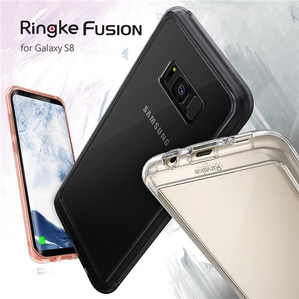 S8 S8+ Ringke Fusion Slim Air Onyx Case for Galaxy S8 | S8 Plus