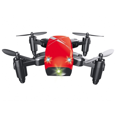 S9 Micro Foldable RC Quadcopter RTF Gyro RED