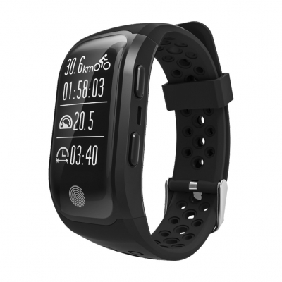 S908 GPS Smartband Heart Rate / Sleep Monitor Sedentary Reminder Pedom..