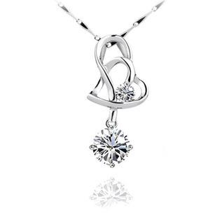 S925 heart to heart love pendant nec end 3162019 231 pm s925 heart to heart love pendant necklace aloadofball Image collections