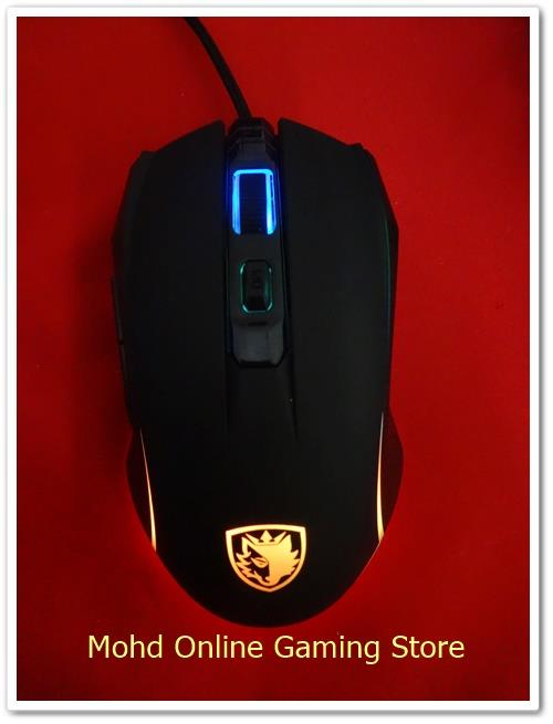 SADES SIDERS MIRAGE RGB GAMING MOUSE!