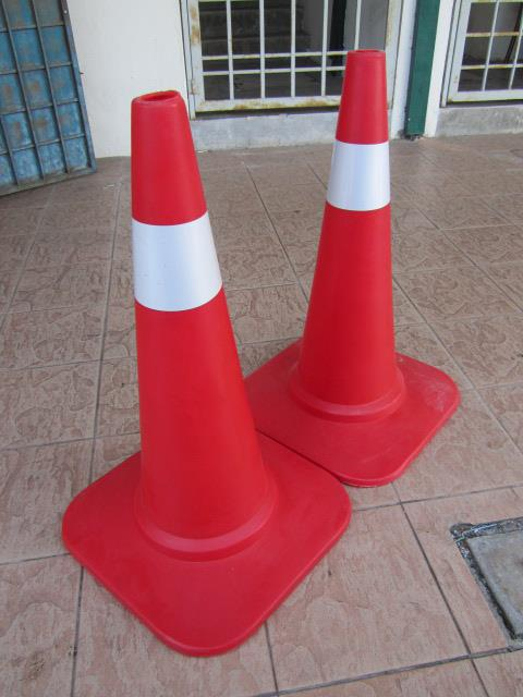 "MY Safety 30"" HDPE Sand Base Traffic Cones"